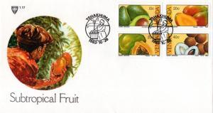 Venda - 1983 Subtropical Fruit FDC SG 83-86