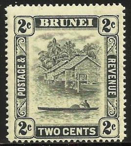 Brunei 1947 Scott# 63 MH