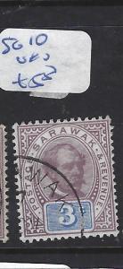 SARAWAK (P1209B) 3C  SG 10  VFU