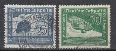 Germany - 1938 F.von Zeppelin Mi# 669/670  (7126)