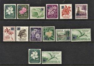 STAMP STATION PERTH Norfolk Island #71-82 Overprint Full Set  MNH CV$20.00