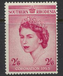Southern Rhodesia  SG 77  Mint very light trace of Hinge