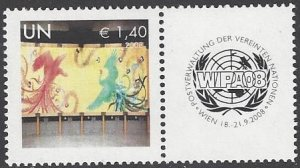 United Nations Vienna 491 MNH 2011 Personalized Single Stamp