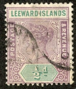 Leeward Isl, Scott #1 Used