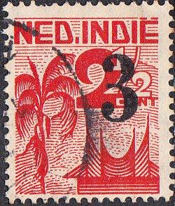 Netherlands Indies #268  Used