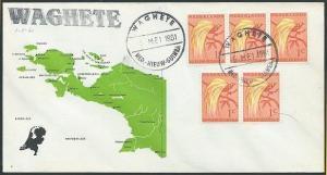 NETHERLANDS NEW GUINEA 1961 cover WAGHETE cds..............................46286