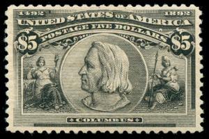 momen: US Stamps #245 Mint OG VF/XF PF Cert