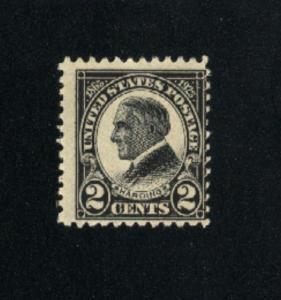 USA #610 Mint   1923 PD .55