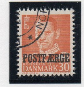 Denmark Sc Q32 1949 30 ore Frederik IX Postfaerge stamp used