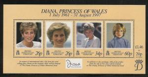 British Indian Ocean Territory 197 1998 Diana s.s. MNH
