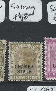 INDIA CHAMBA (P0604B) QV  6A  SG 12  MOG