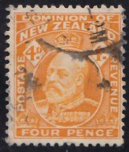 New Zealand Scott 135 Used.