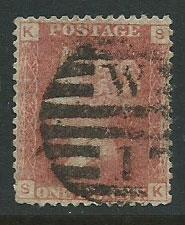 Great Britain - QV SG 43 plate 73