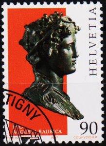 Switzerland. 1997 90c. S.G.1342  Fine Used