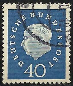 Germany 1959 Scott # 796 Used