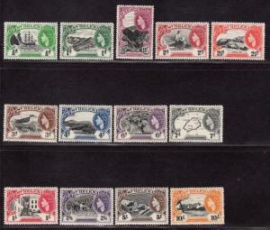 $St. Helena Sc#140-52 M/H, complete set, Cv. $103.25