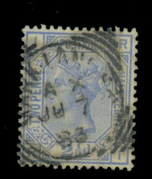 Great Britain #82Pl23 Used F-VF CAt$30