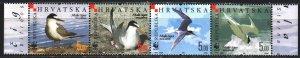 Croatia. 2006. 774-77. Birds, WWF, fauna. MNH.