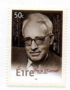 IRELAND 1500 MNH SCV $2.25 BIN $1.50 FRANK O'CONNOR