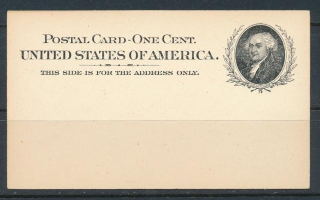 USA #UX15 POSTAL CARDS  MINT EXTRA FINE NH