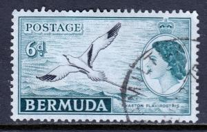 Bermuda - Scott #152 - Used - SCV $0.75