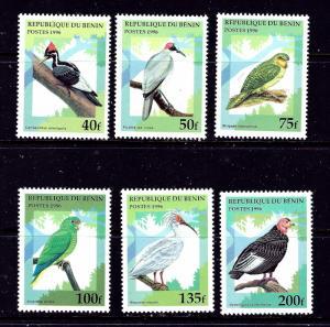 Benin 890-95 MNH 1996 Birds