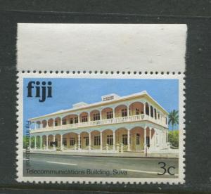 Fiji - Scott 411 - Buildings Issue 1979- MNH - Single 3c Stamp