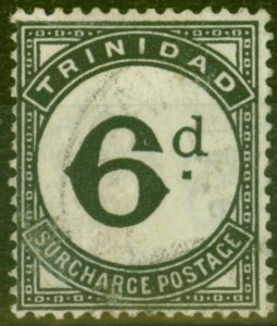 Trinidad 1945 6d Black SGD23 Fine Used