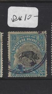 NORTH BORNEO (P0809B) 10C BOAR BNB    CDS   VFU