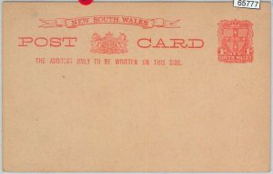 65777 - AUSTRALIA:   SOUTH WALES - Postal History - Picture STATIONERY CARD 19a
