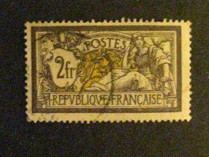 France #126 used  c203 207