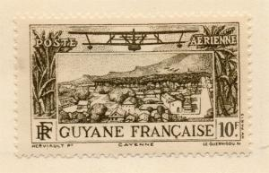French Guiana 1939-40 Early Issue Fine Mint Hinged 10F. 075775