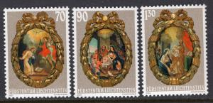 Liechtenstein 1220-1222 Christmas MNH VF