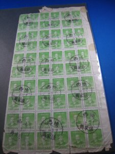 CHINA 1949  -  SCOTT # 905  SHEET OF 60  Used