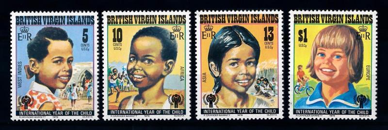 [71283] British Virgin Islands 1979 Year of the Child  MNH