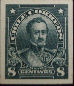 vtaeb.O) 1912 CHILE, DIE PROOF, FREIRE SC 115 8c, XF