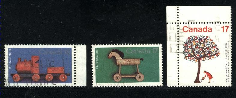 Can #839-40,842   -2    used VF 1979 PD