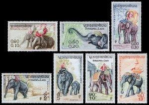 Laos Scott 41-47 (1958) Mint LH VF Complete Set C