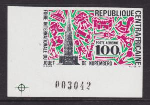Central African Republic Sc C74v MNH. 1969 Toy Fair XF