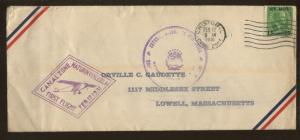 1931 Cristobal Canal Zone to Maturin Venezuela First Flight Air Mail Cover