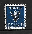 NORWAY, 236, USED, 1941 ISSUE, OVPTD V