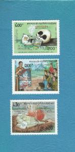 Laos 1127-1129  MNH