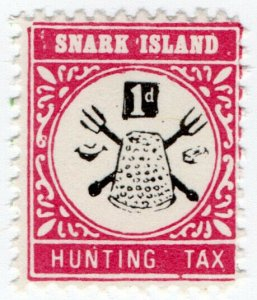 (I.B) Cinderella : Gerald King Wonderland : (Snark Island Hunting Tax 1d)