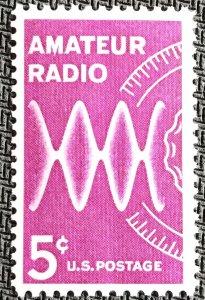 US #1260 MNH Single Amateur Radio SCV $.25 L23