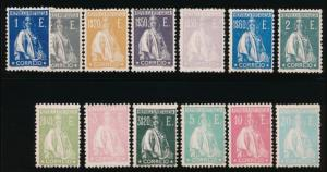 PORTUGAL 298l-223u MINT LH SET, GLAZED