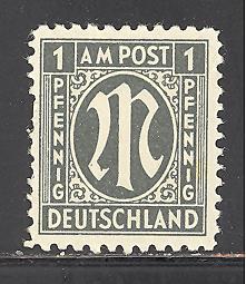 Germany 3N1 mint hinged (DT)