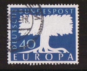 Germany  #772  used   1957  Europa  40pf