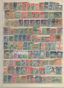GUATEMALA 1940 - 1960 STAMP SELECTION SINGLES & SHORT SETS 225 STAMPS F