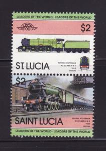 St Lucia 623 MH Trains, Locomotives