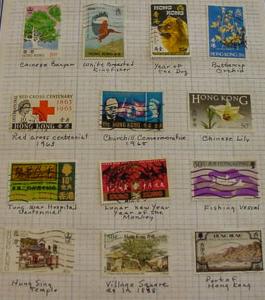 Hong Kong Collection __13 Used